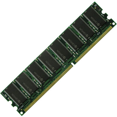 Gigaram  512MB 208p PC2100 CL2.5 18c 64x4 Registered ECC DDR DIMM
