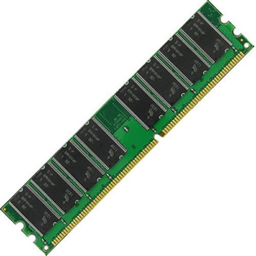 Gigaram  512MB 184p PC3200 CL3 16c 32x8 DDR DIMM T001 Samsung