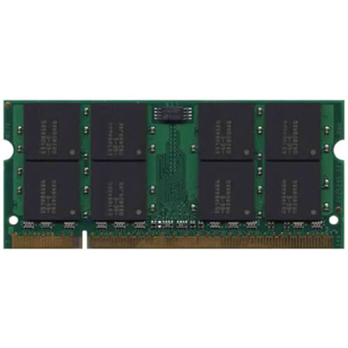Micron MT16HTF12864HY-533 1GB 200p PC2-4200 CL4 16c 64x8 DDR2-533 SODIMM Apple PowerBook RFB