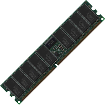Gigaram 371-1116-MIC 512MB 184p PC2700 CL2.5 18c 64x4 Registered ECC DDR DIMM Sun Fire V20Z Server 3