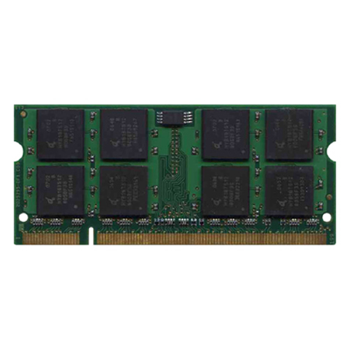 Elpida/3rd MT1GS16T648-667-EPXX 1GB 200p PC2-5300 CL5 16c 64x8 DDR2-667 2Rx8 1.8V SODIMM