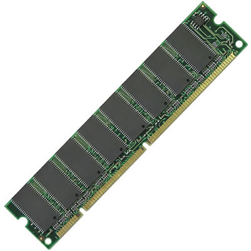 Gigaram BME 256MB 168p PC133 CL3 18c 16x8 SDRAM DIMM (X6180A barcoded)
