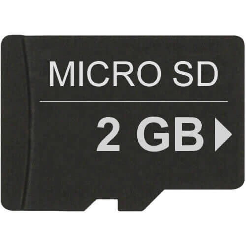 2GB 8p MSD Micro Secure Digital Card Bulk