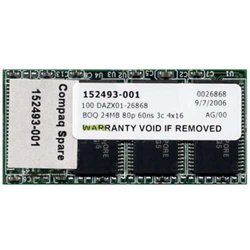 Gigaram  24MB 80p 60ns 3c 4x16 EDO Flash Module