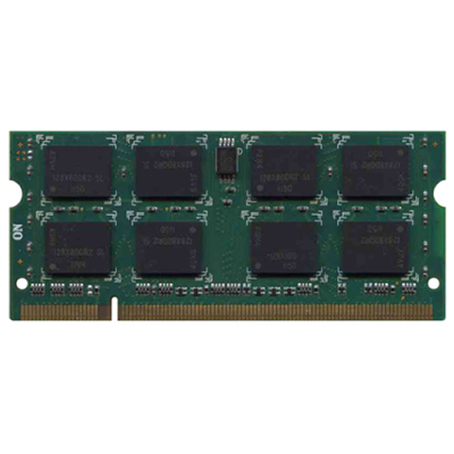 2GB 200p PC2-5300 CL5 16c 128x8 DDR2-667 2Rx8 1.8V SODIMM