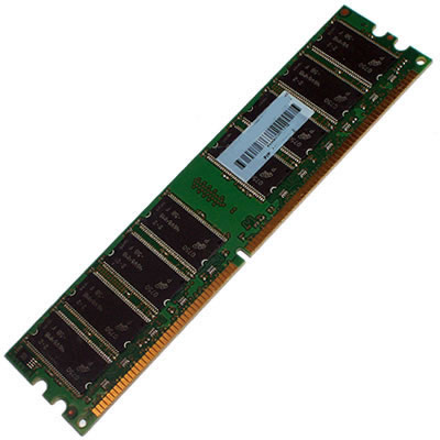 Gigaram  1GB 276p PC2-4200 CL4 18c 64x8 Registered ECC DDR2-533 DIMM 4474
