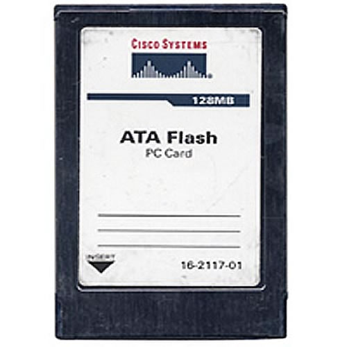 Gigaram  128MB 68p PCMCIA ATA Flash Card Cisco Approved