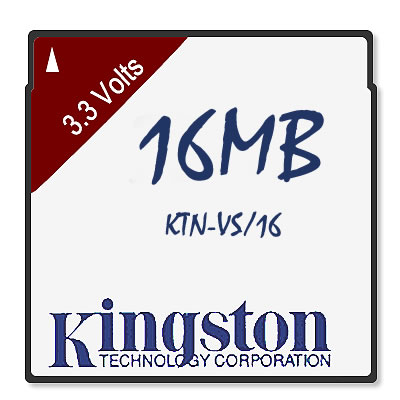 16MB 68p PCMCIA DRAM 3.3V Credit Card Versa 4000