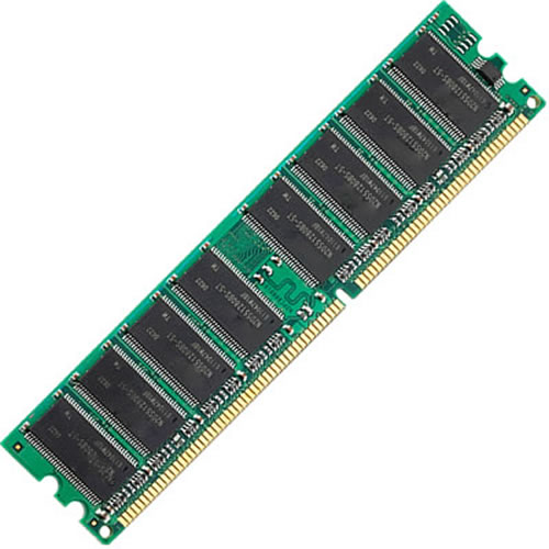 4GB 184p PC3200 CL3 36c 256x4 Registered ECC DDR DIMM Remove Sun Labels