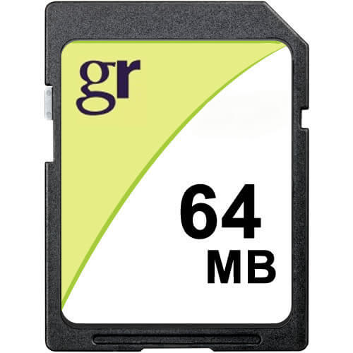 Gigaram  64MB 9p SD Secure Digital Card