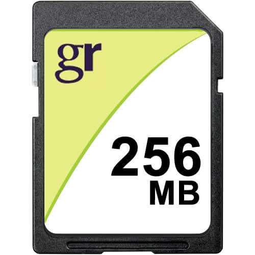Gigaram SD-256MB-KO BQL 256MB 9p SD r15MB/s w5MB/s [2082+SAM] with GR Label Secure Digital Card Bulk