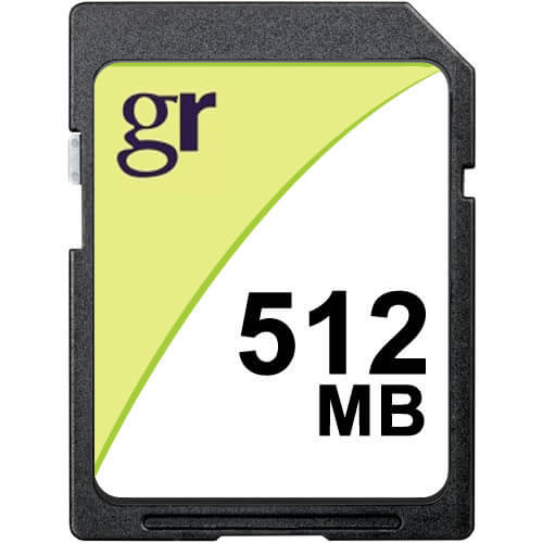 Gigaram  512MB 9p SD Secure Digital Card