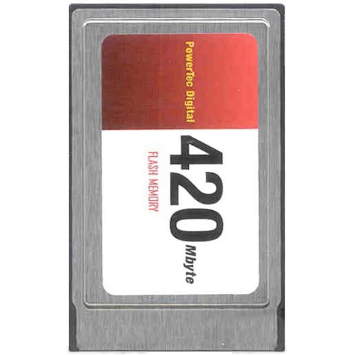 Gigaram ATA-420MB 420MB PCMCIA ATA Flash Card Bulk