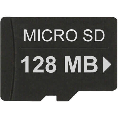 Gigaram  128MB 8p MSD Micro Secure Digital Card 66x