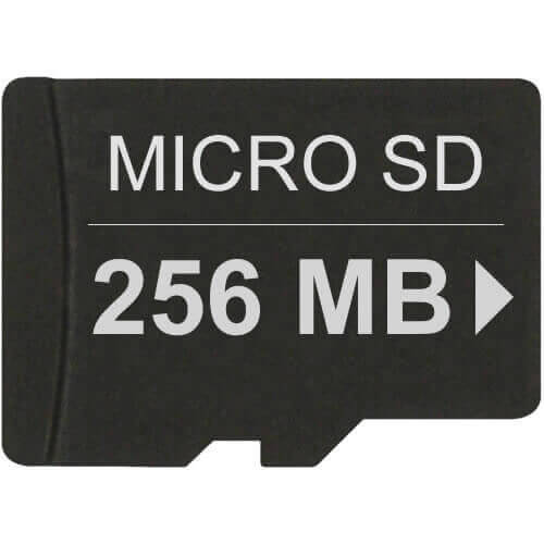 SanDisk TF256 256MB 8p Transflash w/o Adapter Bulk RFB