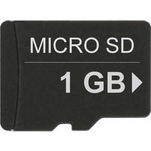Kingston SDC/1GB 1GB 8p Transflash MSD Micro Secure Digital Card Bulk RFB