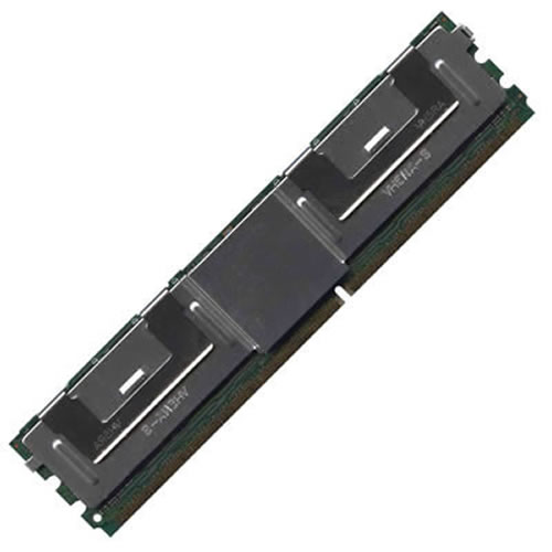2GB 240p PC2-5300 CL5 36c 128x4 DDR2-667 2Rx4 1.8V ECC FBDIMM RFB W/Hp label