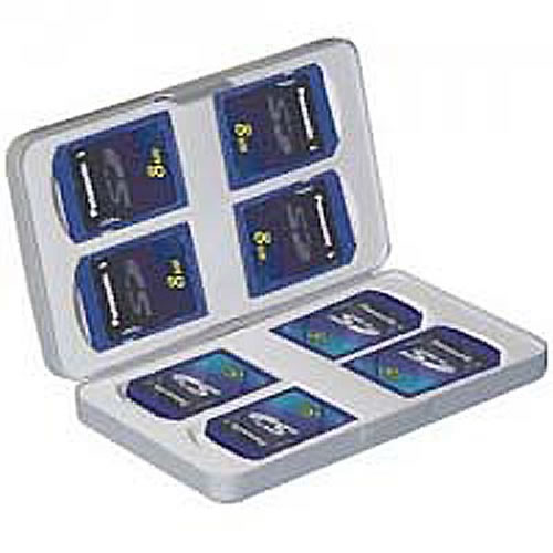 Gigaram BUF 0MB Case, 4pcs CF/MS/MS-Duo/SD/XD/SM Tray
