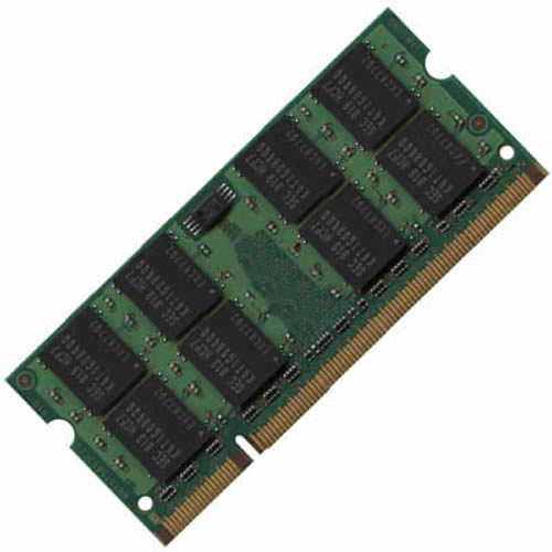 2GB 200p PC2-5300 CL5 8c 2x128x8 DDR2-667 2Rx8 1.8V SODIMM