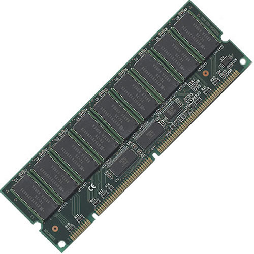 "Gigaram BWJ 256MB 232p PC100 18c 8x16 Registered ECC SDRAM DIMM 2.5"" tall"