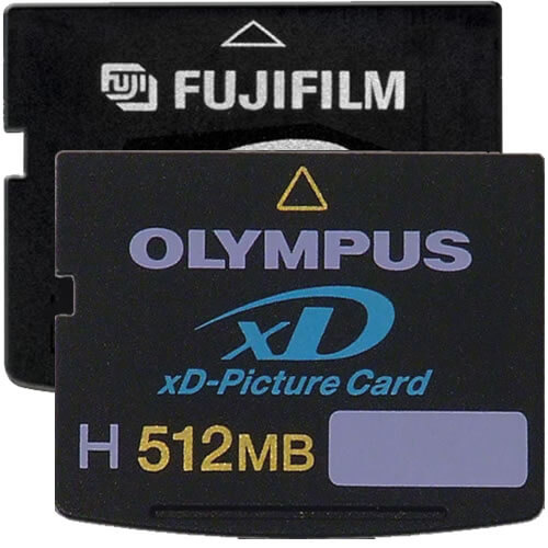 Olympus XD-512-H BWZ 512MB 18p xD Picture Card Type H Bulk