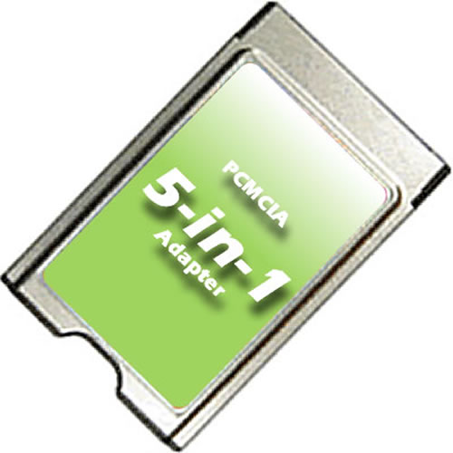 Gigaram PCMCIA-SD-A 0MB PCMCIA Type II to SD/SDHC/SDIO Adapter