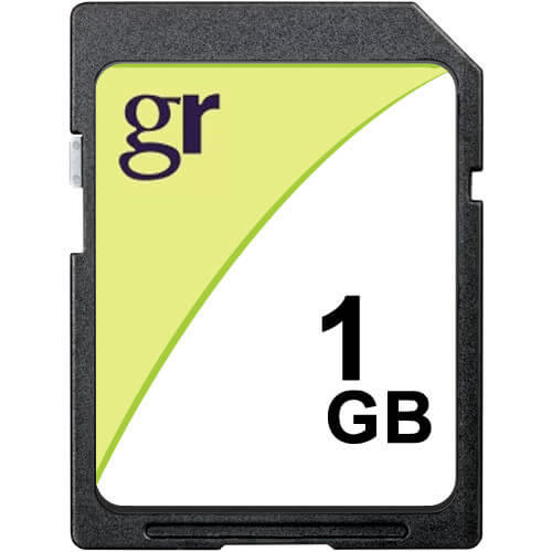 Gigaram  1GB SD Secure Digital Card 24x Class 2