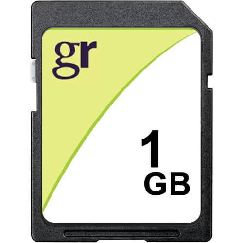 1GB SD Secure Digital Card 24x Class 2
