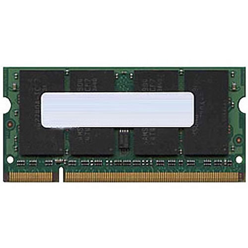 Kingston KTA-MB667K2/2G 1GB 200p PC2-5300 CL5 8c 128x8 DDR2-667 1Rx8 1.8V SODIMM 1/2 Kit
