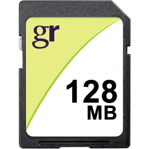 Gigaram SD-128MB-LI BXV 128MB 9p SD r8MB/s w5MB/s 73x Bulk with GR Label AX215E] Secure Digital Card