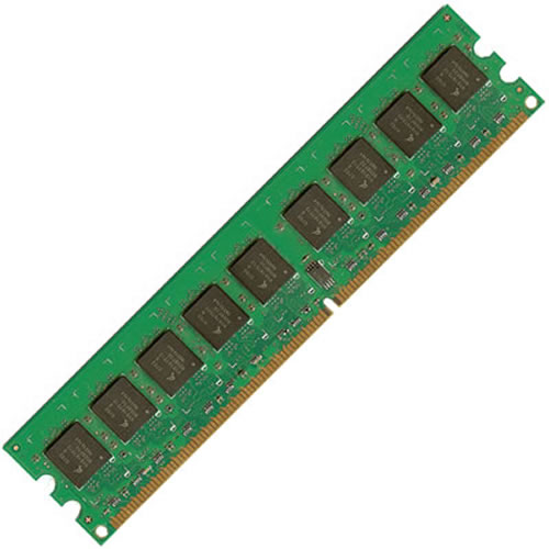 Gigaram  4GB 240p PC2-5300 CL5 18c 2x256x4 Registered ECC DDR2-667 DIMM Dual Die Sun Original