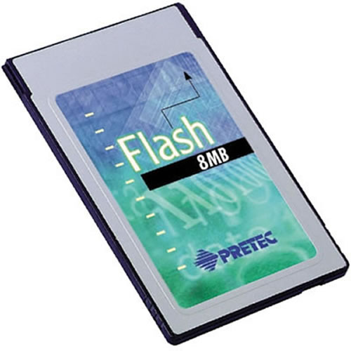 BYJ 8MB PCMCIA Linear Series 200 Flash Card 3rd Party
