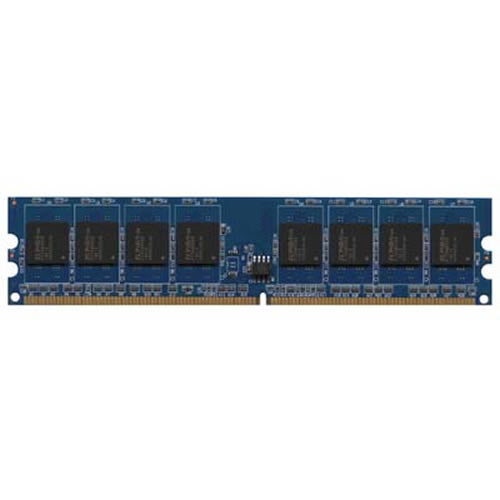 Kingston KTD-DM8400B/1G 1GB 240p PC2-5300 CL5 8c 128x8 DDR2-667 1Rx8 1.8V UDIMM VLP RFB