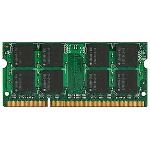 Gigaram  8GB 204p PC3-10600 CL9 16c 512x8 DDR3-1333 2Rx8 1.5V SODIMM