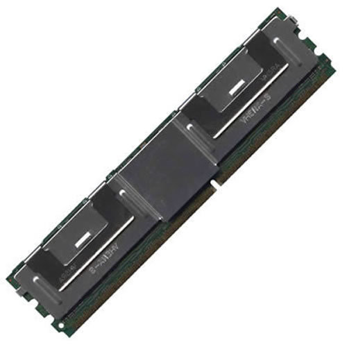 1GB 240p PC2-5300 CL5 9c 128x8 Fully Buffered ECC DDR2-667 FBDIMM