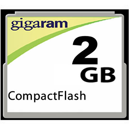 Gigaram CBF 2GB 50p CompactFlash Card