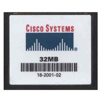 Cisco CCF032JCVS6MC000 32MB 50p CF CompactFlash Card Cisco Original
