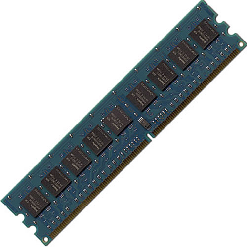 Hynix HYMP125U64CP8-S6 2GB 240p PC2-6400 CL6 16c 128x8 DDR2-800 2Rx8 1.8V UDIMM RFB W/MIX label