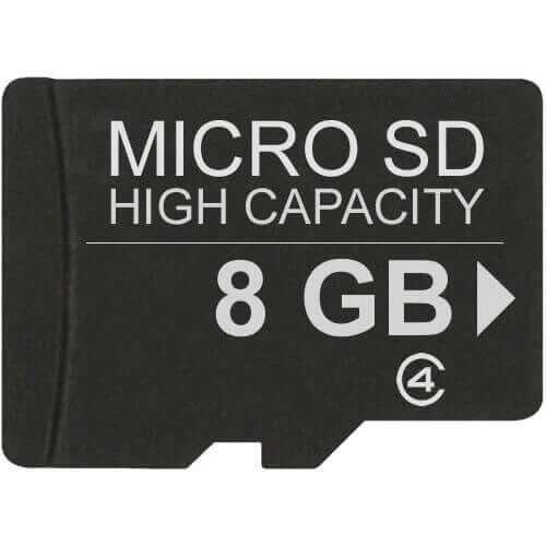 Kingston SDC4/8GB 8GB 8p Transflash MSDHC Micro Secure Digital High Capacity Card Class 4