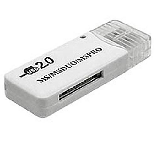0MB USB 2.0 to Memory Stick and Memory Stick Pro Duo Reader