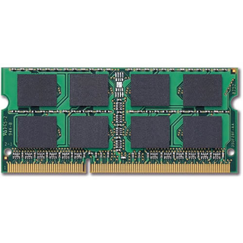 Micron MT8JSF25664HZ-1G1D1 2GB 204p PC3-8500 CL7 8c 256x8 DDR3-1066 1Rx8 1.5V SODIMM  RFB
