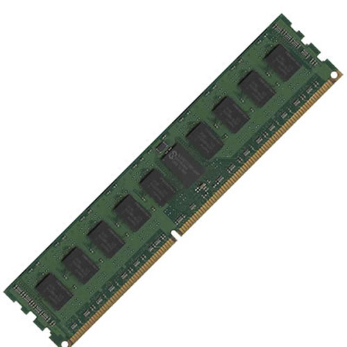 Samsung M393B5170GB0-CH9Q8 4GB 240p PC3-10600 CL9 36c 256x4 DDR3-1333 2Rx4 1.5V ECC RDIMM W/hp label