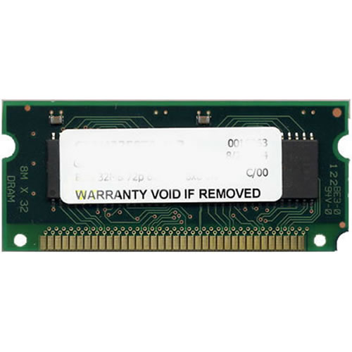 CEL 64MB 72p 60ns 8c 16x4 EDO SODIMM Cisco