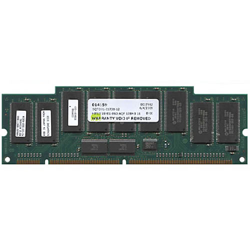 CFC 64MB 168p PC100 CL2 9c 8x8 Registered ECC SDRAM DIMM Cisco
