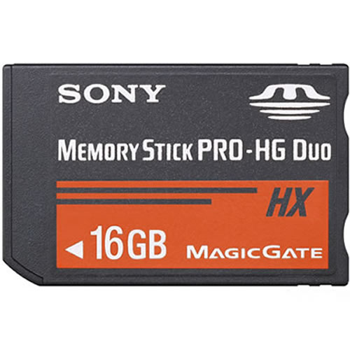 Sony MS-MT16G/2NQK-ADAPTER CKI 16GB 10p Memory Stick Pro Duo Mark 2 Retail with Adapter