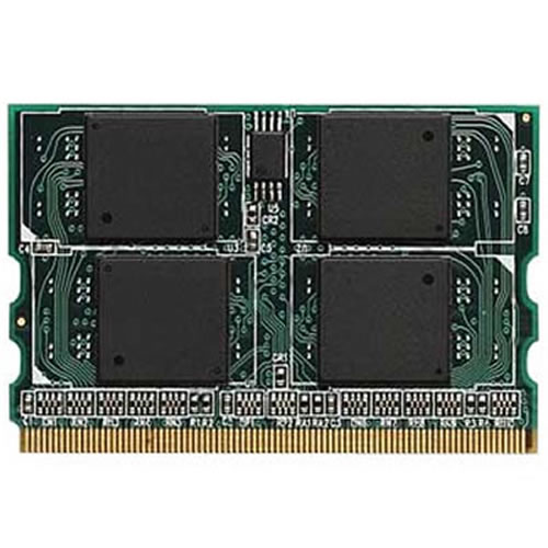 CLB 512MB 172p PC2-4200 CL4 8c 64x8 DDR2-533 microDIMM