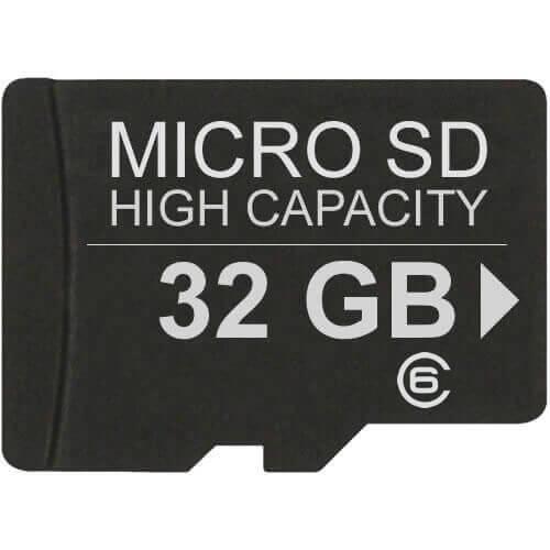 32GB 8p MSDHC Class 6 Micro Secure Digital High Capacity Card