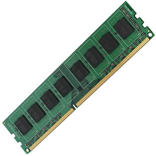 Micron MT18JSF25672AZ-1066 2GB 240P PC3-8500 CL7 18c 128x8 DDR3-1066 ECC 2Rx8 DIMM