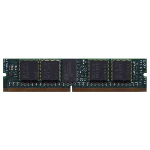 1GB 244p PC2-3200 CL3 18c 64x8 Registered ECC DDR2-400 MiniDIMM