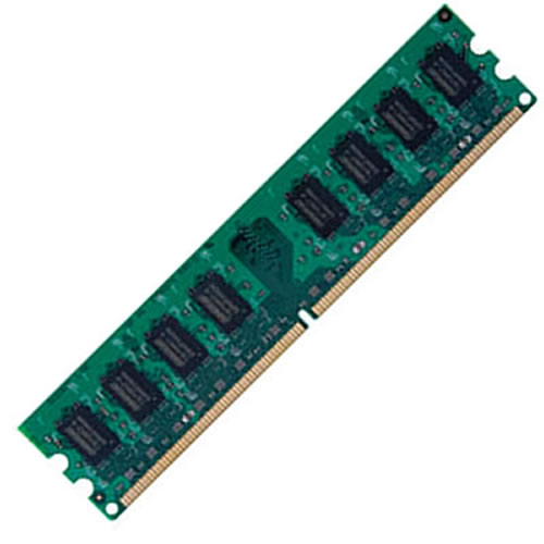 Gigaram CMT 512MB 240p PC2-6400 CL6 4c 64x16 DDR2-800 1Rx16 1.8V UDIMM